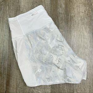 lululemon High Rise Running Shorts Size 4